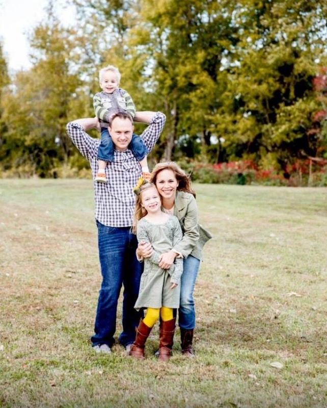 Nichole Lynn Wilson and family